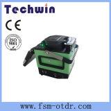 A junção de fibra óptica Techwin encerramento igual à Fujikura Emendando a máquina