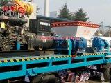Gerador móvel Shredder Chipper de madeira Diesel psto