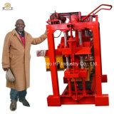 Bloque de la depresión del precio de fábrica que hace máquina Qt4-35 la máquina manual del bloque de cemento