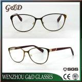 2018 Nuevo Modelo Popular gafas Gafas de Metal Marco óptica gafas