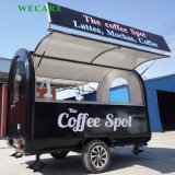 販売のコーヒー、ハンバーガーおよびアイスクリームのための屋外のケイタリングのキオスク