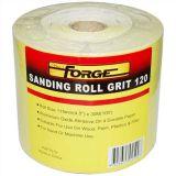 Durable 120 Grit Corundum papier abrasif rouleau en tissu abrasif pour le travail du bois