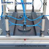 Dois cilindros que trabalham comprimem a máquina de empacotamento a vácuo (YS-700/2)