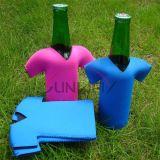 Bouteille de néoprène Koozie, Refroidisseur de bouteille de bière en forme de t-shirt (BC0046)