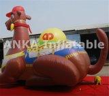 20FT hohes grosses aufblasbares bekanntmachendes Karikatur-Kamel-Zeichen