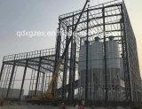 Estrutura de aço construção prefabricados de betão para depósito de mistura