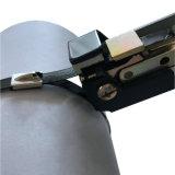 Attache de câble en métal avec revêtement en PVC pour la construction navale
