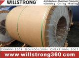 il reticolo di pietra di 0.3mm ha preverniciato la bobina di alluminio con il rivestimento di PE/PVDF