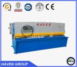Cnc-hydraulische Schwingen-Träger-Scher-und Ausschnitt-Maschine QC12K 10X3200