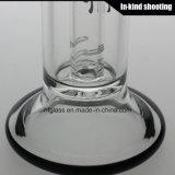 GlasVölker KLEKS Toro-X Makrowasser-Rohr-rauchende kleine Glasölplattform