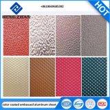 PE/PVDF de kleur het Met een laag bedekte Decoratie van /Door van het Blad van het Dakwerk van de Muur van de Rol van het Aluminium Buiten/Systeem van het Plafond