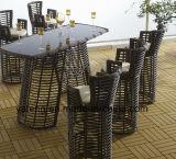 Qaulity superior ao ar livre Using a barra da mobília do jardim ajustou-se com tabela de Chair& (YT645-2)
