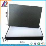[متّ] صندوق من الورق المقوّى أسود يعبّئ مع غطاء