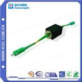 Attenuatori fissi alimentabili 0 di fibra ottica a 25dB