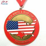 カスタマイズされた亜鉛合金の記念品の金属メダル