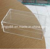 Boîte d'affichage à chaussure acrylique transparente de qualité supérieure personnalisée