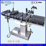 Mesa de operaciones de múltiples funciones eléctrica Radiolucent quirúrgica del hospital