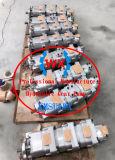 Komatsu original LW250 Maquinaria de construcción de la grúa piezas de repuesto de las tuberías hidráulicas Bomba de engranajes 705-51-30170 Fabricado en Japón partes