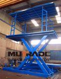 Elevador de coche Customzied plataforma elevadora vertical hidráulico automático transpaleta manual