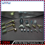 Parafuso do encaixe de tubulação das peças e porca inoxidáveis feitos à máquina (WW-MP017)