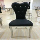 Klassischer Art-Raum-Möbel-Edelstahl, der Stuhl speist