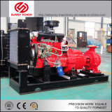 ディーゼル機関の圧力タンクとの消火活動のための主導の水ポンプ