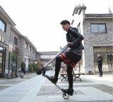 Pliage de skateboard Scooter électrique Scooter électrique pliable bon marché avec la poignée de 5,5 pouces mini pliage noir Scooter électrique