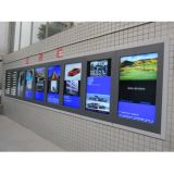Yashi 49pouces monté sur un mur de la publicité de la signalisation numérique LCD Media Player