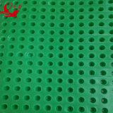 panneau de imperméabilisation d'évacuation de feuille en plastique d'évacuation embrévé par HDPE de 20mm