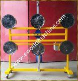 6 tasses de meunier vide lourd de l'élévateur de manutention du verre