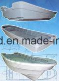 Aqualand 26.5feet Fiberglas-Passagier-Arbeits-Berufsfähre-Wassertaxi-/Panga-Fischen-Bewegungsboot (265c)