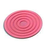 Impression de haute qualité à bas prix Coaster ensemble les anneaux de primes en relief l'étiquette