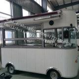 Towbarが付いている販売の食糧トレーラーのための屋外の移動式食糧カートピザ食糧トラック