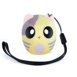 Uno mismo-Temporizador sin manos Bluetooth del mini de Bluetooth del locutor de la historieta de la música soporte animal portable sin hilos del altavoz