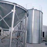 Große Kapazitäts-flache Unterseiten-Stahlsilo für Korn-Preis