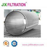 Le traitement de l'eau en acier inoxydable de la cartouche du filtre