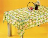 Fábrica transparente impressa PVC nova de China do Tablecloth dos projetos