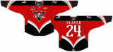 Customized Quebec Grande Liga de Hóquei Jr Drummondville Voltigeurs 2005-2017 Home /Road Hóquei no Gelo Jersey
