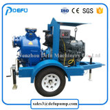 Pompe orizzontali dei residui di innesco di auto del motore diesel per il trasferimento delle acque luride
