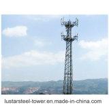 Torretta autosufficiente angolare di telecomunicazione della grata del diametro 70m