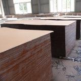 La película negra de Brown hizo frente a la madera contrachapada para el uso del edificio de la construcción