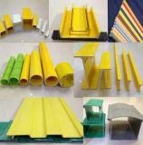 FRPのガラス繊維強化プラスチックの固体棒の管