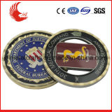 Diamond обрезанный край 2 тон покрытие Custom сувенирных монет