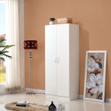 Flat luggage MDF Particle board Wooden Melamine Cheap Wardrobe Closet