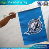 Le drapeau fait sur commande de voiture de promotion conçoivent la vente en gros en fonction du client de drapeau de voiture (M-NF08F01001)