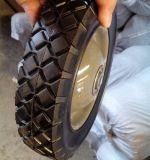 8X1.75 geben flach Halb-Pneumatisches landwirtschaftliches Rasenmähmaschine-Gummirad frei