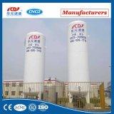 Réservoir de stockage industriel de liquide cryogénique de basse pression d'utilisation