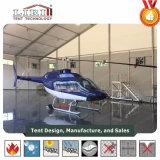 De Tent van de Hangaar van vliegtuigen met Grote Rolling Deur voor Hangaar en Helikopter