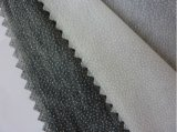 Fábrica direta entrelinhando kejme'noykejme fundível dos acessórios dobro não tecidos do vestuário de matéria têxtil do poliéster do PONTO