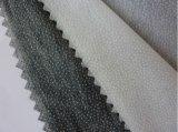 Non-Woven二重点ポリエステル織物の衣服のアクセサリの可融性の行間に書き込む直接工場